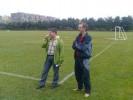 Športne igre Pošte Slovenije :: Padalci LCM smo izvedli demo skok na športne igre Pošte Slovenije
